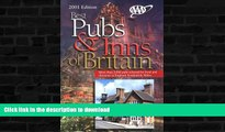 FAVORITE BOOK  AAA 2001 Best Pubs and Inns of Britain: More Than 2,000 Pubs Selected for Food and