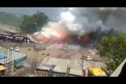 When A Fireworks Store Explodes, It Really Explodes