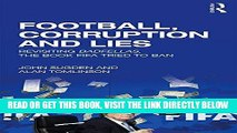[EBOOK] DOWNLOAD Football, Corruption and Lies: Revisiting  Badfellas , the book FIFA tried to ban