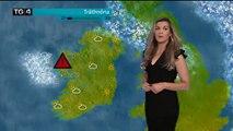 Quand la foudre s'abat sur une Miss météo en Irlande