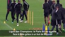 Ligue des champions: le PSG se qualifie grâce à Meunier