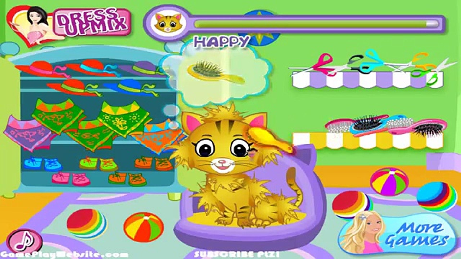 Dora pets care - Dora Games for Baby and Girls - Online Game for Children