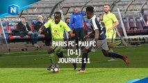J11 : Paris FC - Pau FC (0-1), le résumé