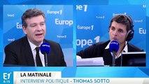 Fichier informatique du renseignement, confidences de François Hollande, primaire de la gauche : Arnaud Montebourg répond aux questions de Thomas Sotto