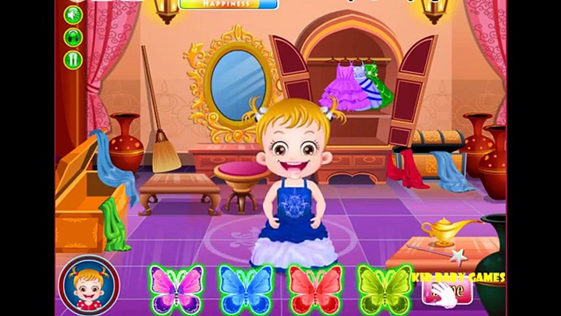 Baby Games Video Hazel - Kid Game Princess Makeover - Educational Entertainment For KID