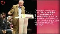 « Il devrait la fermer » : Alain Rousset ne visait pas François Hollande mais Michel Sapin