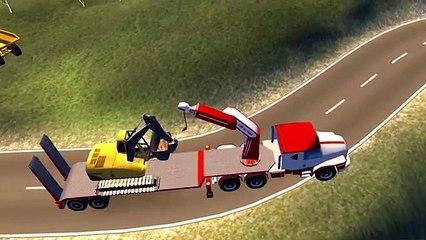 эсковатор| трактор и грузовик | игра стройка # 1