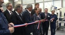 Ségolène Royal Inaugure une ligne de production de sacs biosourcés et biodégradables
