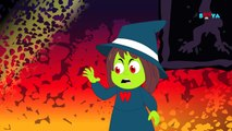 Five naughty ghosts | Scary nursery rhymes for children