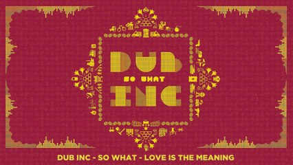 "DUB INC - Love is the meaning (Lyrics Vidéo Official) - Album ""So What"""