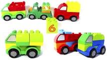 Обучающий мультфильм Учим цифры, цвета и числа, мультик про машинки