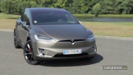 Essai - Tesla Model X : navette spéciale