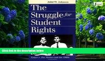 Best book The Struggle for Student Rights: Tinker v  Des