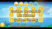 Angry Birds Rio All Golden Cherry Kirsche BeachBall Walkthrough 3 Stars Lösung