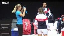 Fed Cup - Mauresmo rappelle Mladenovic et Garcia