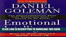 Best Seller Emotional Intelligence: Why It Can Matter More Than IQ Free Read