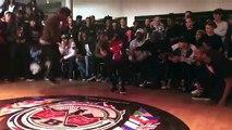 Une gamine met le feu lors d'une compétition de danse hip hop