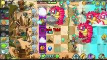Plants Vs Zombies 2: bowling Bulbs Party On Beach, Big Wave Beach Tiki Torch-er - Level 30
