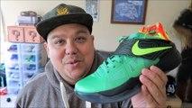 Nike KD 4 Weatherman VS Galaxy Sneakers