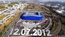 Le Stade Océane filmé depuis un drone