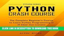 PDF] Mobi Python: Python Crash Course - The Complete