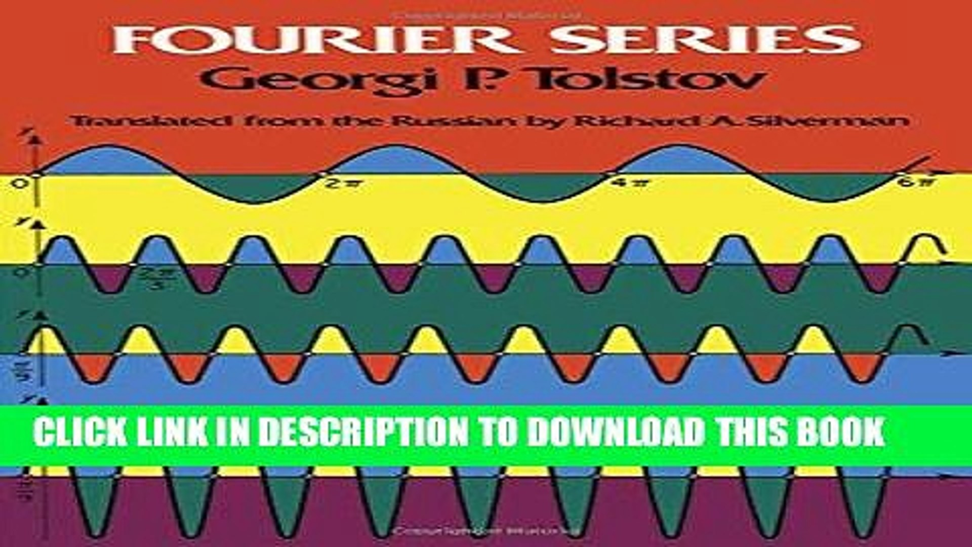 Read Now Fourier Series Dover Books On Mathematics Pdf Online Video Dailymotion