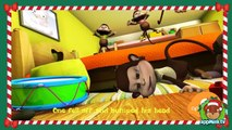 Nursery Rhymes Christmas Compilation | 65 mins | Wheels on the Bus | Plus More Childrens Songs