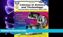 Choose Book Literacy in Science and Technology, Grades 6 - 8: Learning Station Activities to Meet