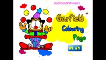 Garfield Games Online Garfield Colouring Game Garfield and Friends Games