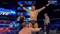 John Cena and Dean Ambrose vs AJ Styles The miz WWE SmackDown Live 13 september 2016 (Full Match)