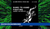 different   ST 31-204 Hand-To-Hand Fighting (karate / tae-kwon-do) US Army Special Forces w