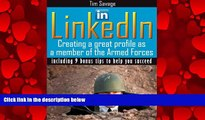 FAVORITE BOOK  LinkedIn - Creating a Great Profile as a Member of the Armed Forces (Your Most