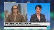 Race for the White House: new emails scandal