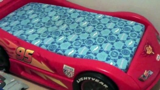 Toddler Cars Bed Assembly Instructions Disney Lightning ...