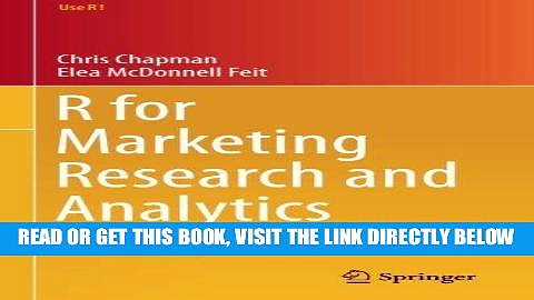 [DOWNLOAD] PDF R for Marketing Research and Analytics (Use R!) Collection BEST SELLER