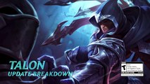 Talon Preseason Spotlight _ Gameplay - League of Legends