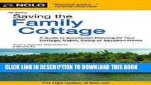[Free Read] Saving the Family Cottage: A Guide to Succession Planning for Your Cottage, Cabin,