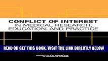 [READ] EBOOK Conflict of Interest in Medical Research, Education, and Practice BEST COLLECTION