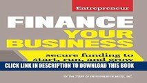 [Free Read] Finance Your Business: Secure Funding to Start, Run, and Grow Your Business Free