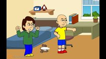 Caillous Mom Destroy Caillous Teddy Bear And Gets Grounded/Caillou Gets Ungrounded