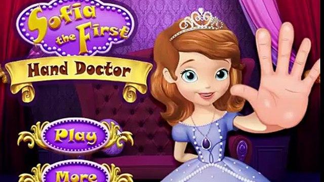 Disney Princess Games - Sofia The First Hand Doctor – Best Disney Games For Kids Sofia
