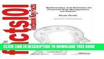 [Free Read] Mathematics and Statistics for Financial Risk Management  Mathematics, Mathematics