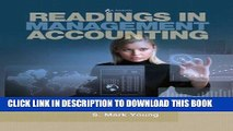 Best Seller Readings in Management Accounting (6th Edition) Free Read