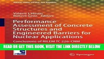 [READ] EBOOK Performance Assessment of Concrete Structures and Engineered Barriers for Nuclear