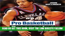 [READ] EBOOK Pro Basketball Prospectus: 2002 Edition (Pro Basketball Forecast) ONLINE COLLECTION