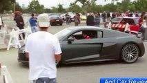 Audi R8 V10 Plus Auto Show And Test Drive  part4