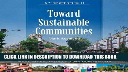 Ebook Toward Sustainable Communities: Solutions for Citizens and Their Governments Free Read