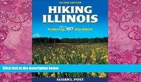 Big Deals  Hiking Illinois - 2nd Edition  Best Seller Books Best Seller