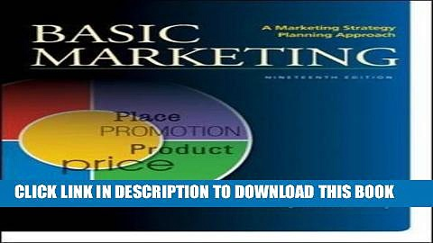 [READ] EBOOK BASIC MARKETING: A Marketing Strategy Planning Approach BEST COLLECTION