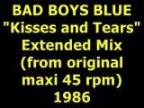 "BAD BOYS BLUE  ""Kisses and Tears""  Maxi 45 rpm"